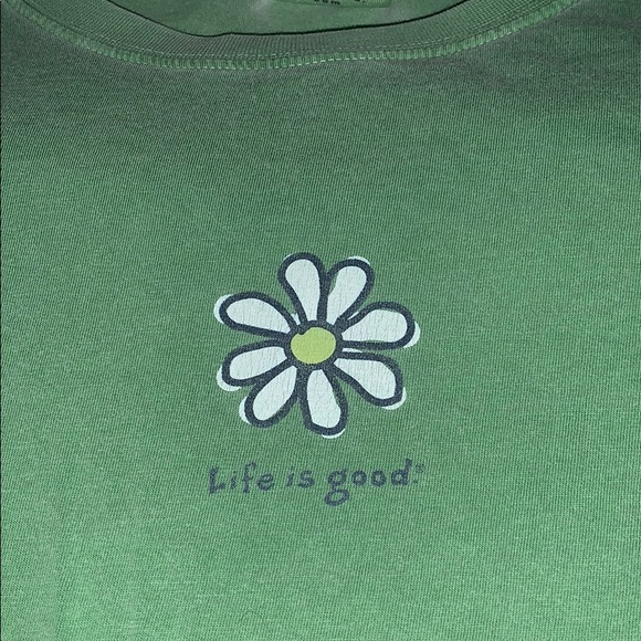 Life Is Good Tops - Large life is good women's tee